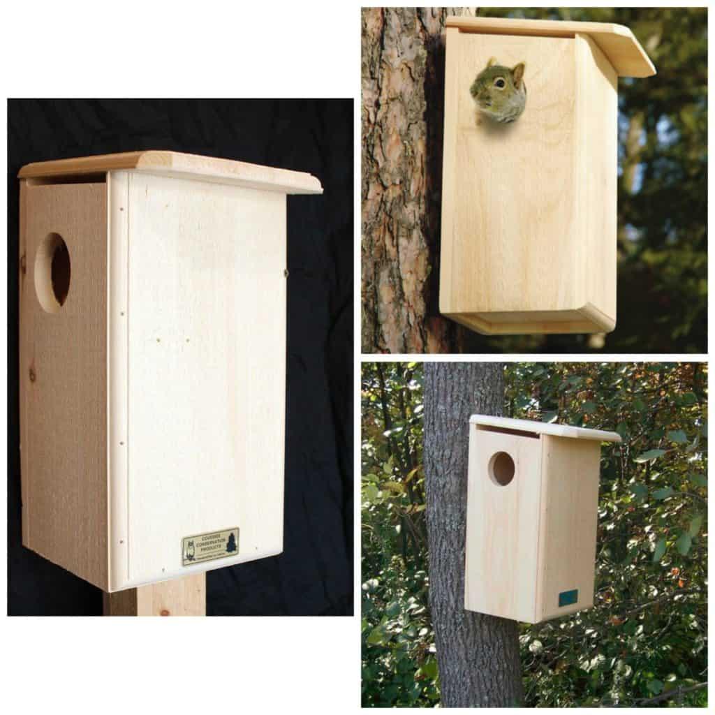 Coveside Squirrel Nest Box