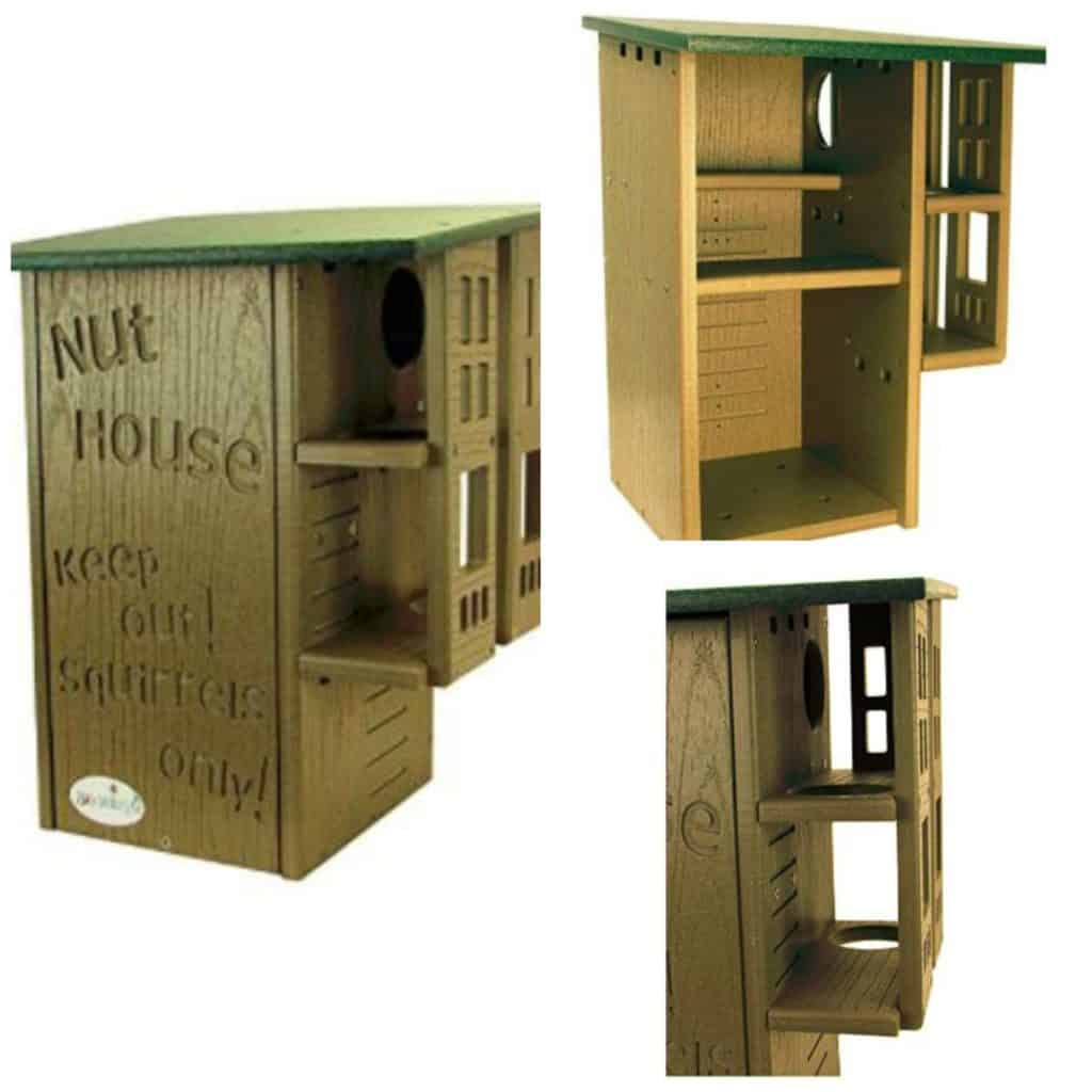 Nut House Deluxe Squirrel Nest Box