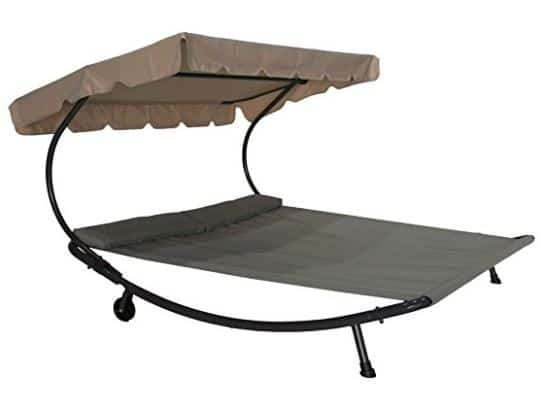 Double Chaise Hammock Lounger