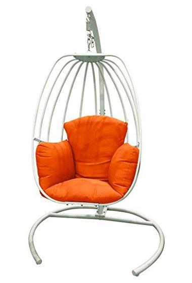 Metallic Egg Frame Hanging Chair