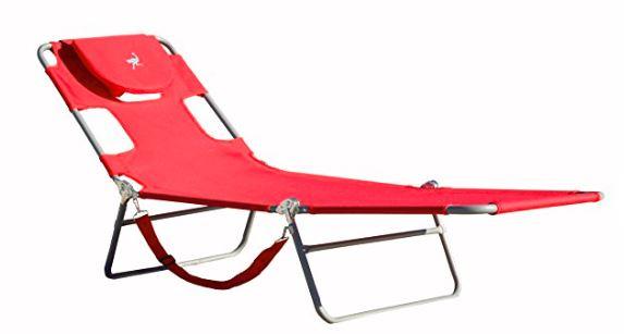 Ostrich Chaise Lounger