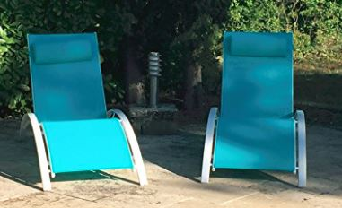 Two Pack of Pool Lounger