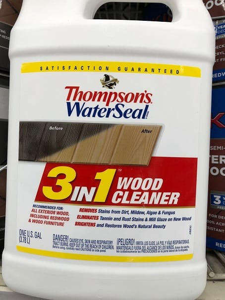 Thompsons 3 in 1 Wood cleaner