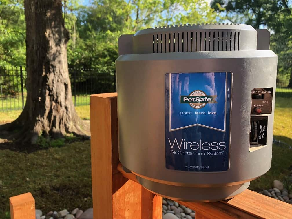 Wireless Invisible Fence Controller