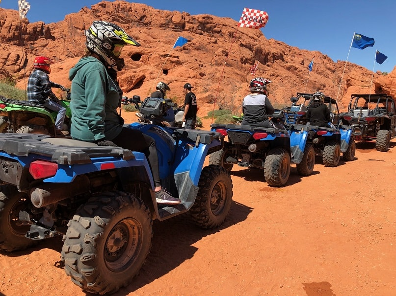 ATV Riding Valley of Fire