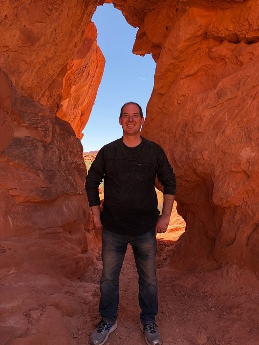 Me at Valley of Fire