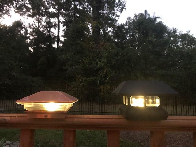 3 vs 7 Lumen Deck Light
